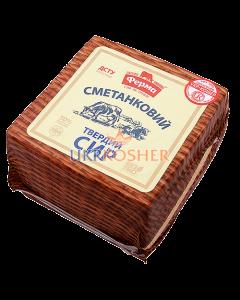 """Сыр """"Сметанковый"""", 50% жирность, головка"""