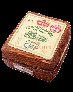 """Сыр ТМ """"Ферма"""", """"Голландский"""", 45% жирность, головка"""