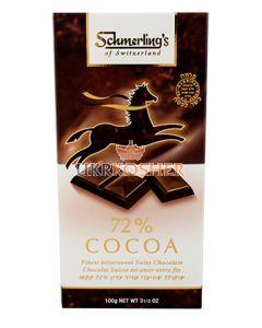 Шоколад черный 72% какао Парве, SHMERLING