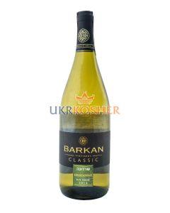 "Вино ""Chardonnay"" белое сухое, ТМ BARKAN"